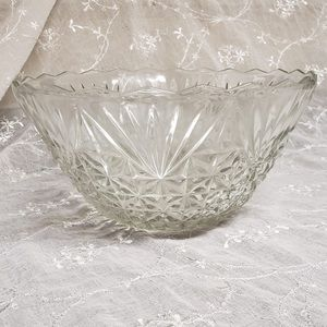 Crystal Embroidered Design Table Centrepiece Bowl